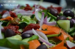 Wivans underbara lunchsallad