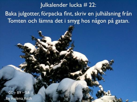 Julkalender22