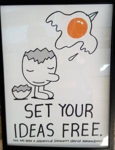Set your ideas free