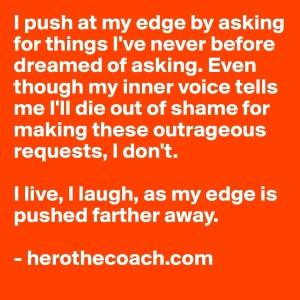 pushing at the edge