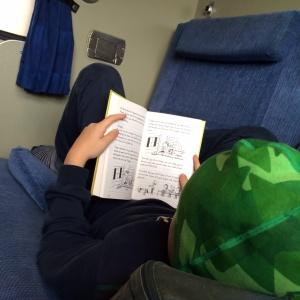 Läsande son