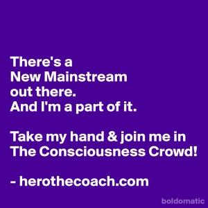 The consciousness crowd