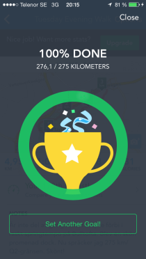 runkeeper done