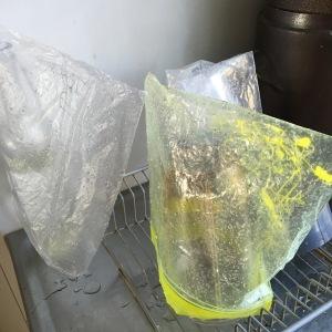 diskade plastpåsar